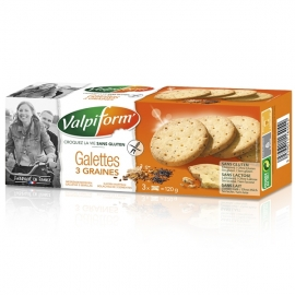 Galettes 3 graines - 120g