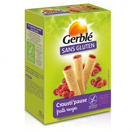 Crousti'pause Fruits Rouges - 125g
