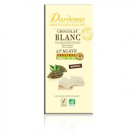 Chocolat blanc à l'agave - 100g