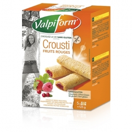 Crousti Fruits Rouges - 125g