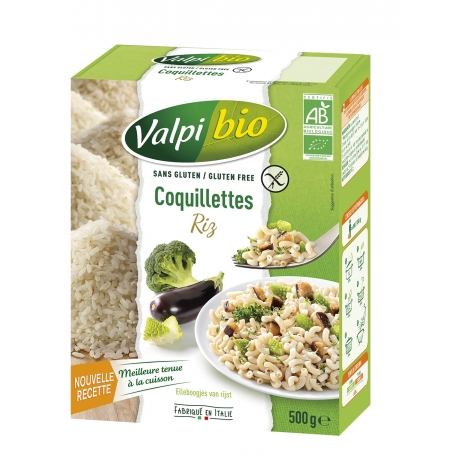 Coquillettes de Riz Bio - 500g