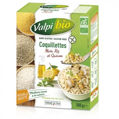 Coquillettes Maïs/Riz/Quinoa- 500g