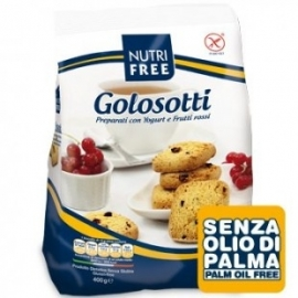Golosotti - Biscuits au Yaourt et Fruits Rouges - 400g