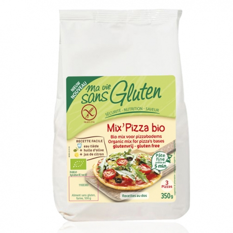 Mix' Pizza - Ma Vie Sans Gluten