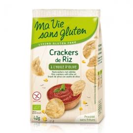 Crackers de Riz à l'huile d'olive - 40g