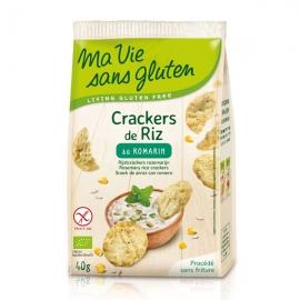 Crackers de Riz au romarin - 40g