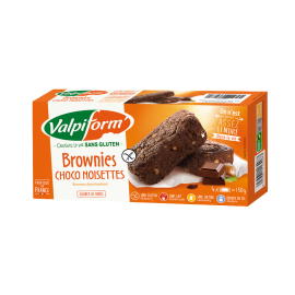 Brownies Choco/Noisettes - 150g