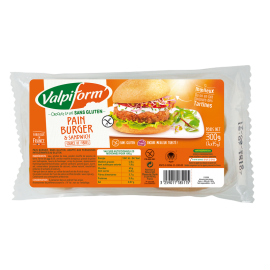 Pain burger & sandwich (4x75g) - VALPIFORM