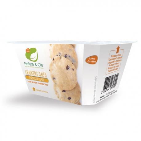 Crackers salés Cumin Parmesan - Nature & Cie
