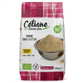 Farine de Teff Bio - Céliane sans gluten