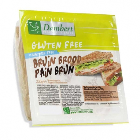 Pain Brun Damhert sans gluten
