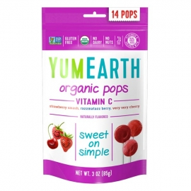 Sucettes Pops Fruits Rouges - 85g