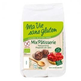 Mix'pâtisserie bio (500g) - MA VIE SANS GLUTEN