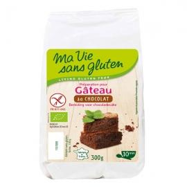 Préparation bio pour gâteau chocolat (300g) - MA VIE SANS GLUTEN