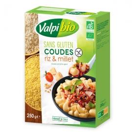 Coudes Riz & Millet Bio - 250g