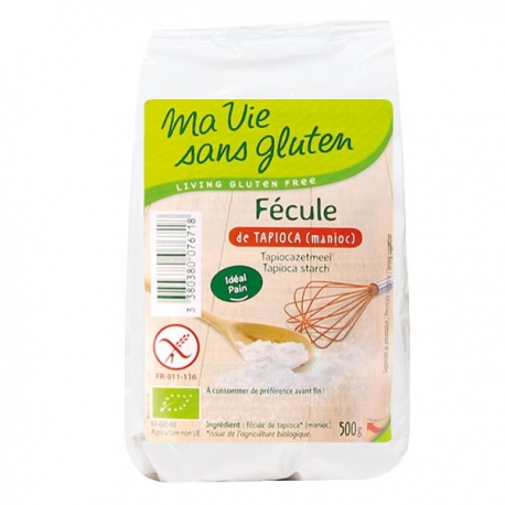 Fécule de tapioca 500g - Ma Vie Sans Gluten