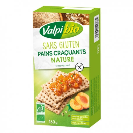 Pains Craquants Nature Bio - 160g