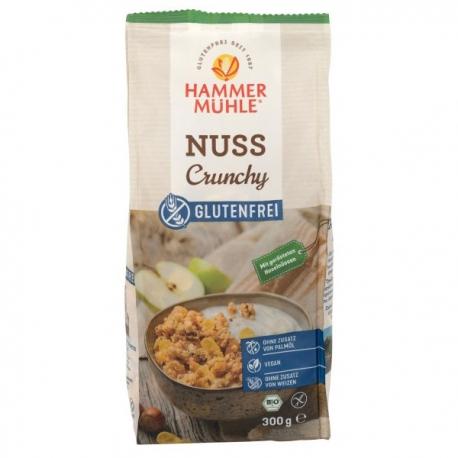 Muesli Bio Crunchy Noisettes (300g) - HAMMERMÜHLE