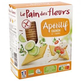 Tartines Apéritif Oignon (150g) - LE PAIN DES FLEURS