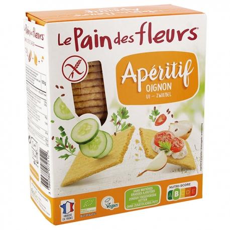 Tartines Apéritif Oignon sans gluten - LE PAIN DES FLEURS