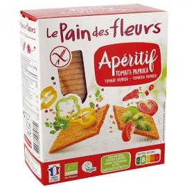 Tartines Apéritif Tomate Paprika (150g) - LE PAIN DES FLEURS