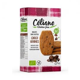 Biscuits Petit Déjeuner Choco Graines (150g) - CELIANE