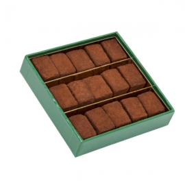 Truffes Fantaisies Chocolat Noir (90g) - DARDENNE