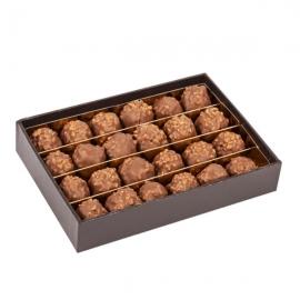 Mini Rochers Pralinés au Chocolat au Lait (Coffret de 240g) - DARDENNE
