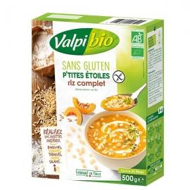 P'tites Etoiles Riz Complet (500g) - VALPIBIO