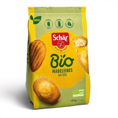 Madeleines Nature Bio sans gluten - SCHAR