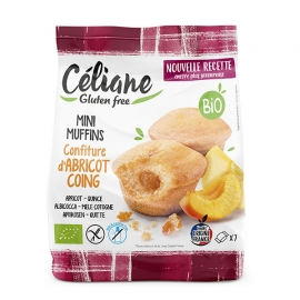 Mini Muffins confiture Abricot - Coing (200 g) - CELIANE