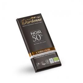Tablette chocolat noir 50% (100g) - DARDENNE