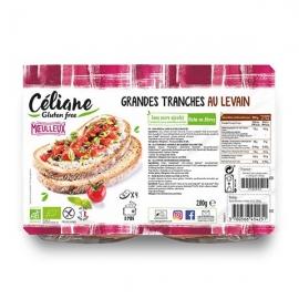 Grandes Tranches au Levain (280g) - CELIANE