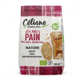Les Mix's Pain Sans Gluten (500g) - CELIANE