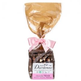 Croquants Chocolat noir, Amandes, Noisettes, Abricots (180g) - DARDENNE