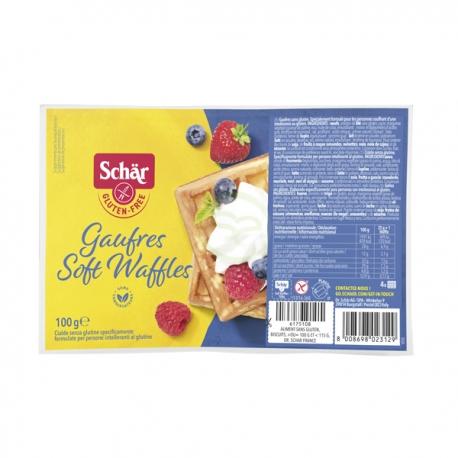Gaufres sans gluten - Soft Waffles - Schär