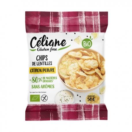 Chips Poivre-Citron (50g) - CELIANE