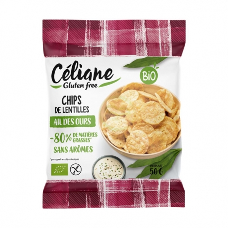 Chips Ail des Ours (50g) - CELIANE
