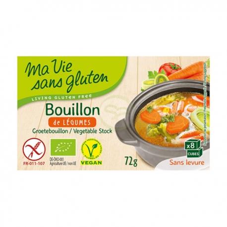 Bouillon de Légumes (72g) - MA VIE SANS GLUTEN