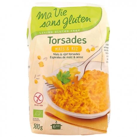 Torsade maïs et riz (500g) - MA VIE SANS GLUTEN