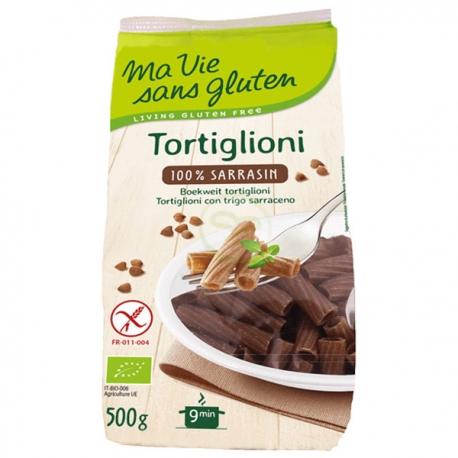 Tortiglioni Bio 100% Sarrasin (500g) - MA VIE SANS GLUTEN