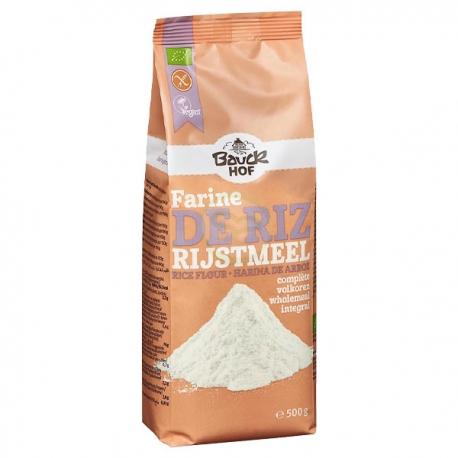 Farine de Riz Complet (500g) - BAUCKHOF