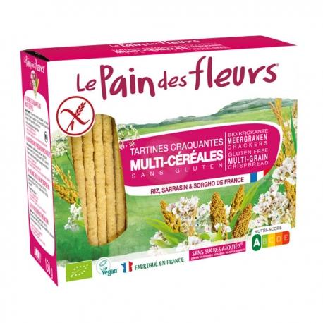 Tartines Multicéréales (150g) - LE PAIN DES FLEURS