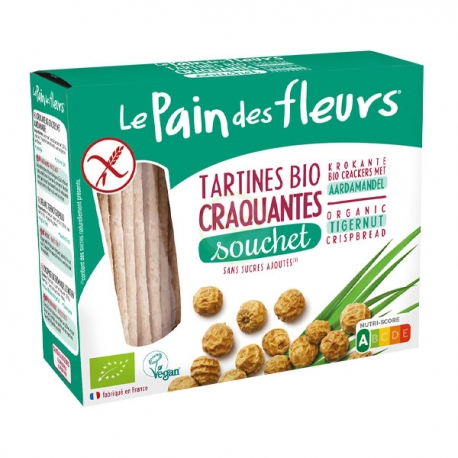 Tartines Craquantes Souchet (150g) - LE PAIN DES FLEURS
