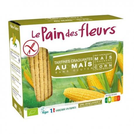 Tartines Craquantes Maïs (150g) - LE PAIN DES FLEURS