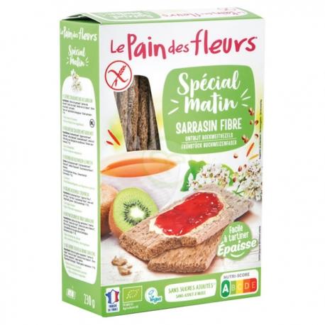 Spécial Matin Sarrasin Fibres - LePainDesFleurs sans gluten